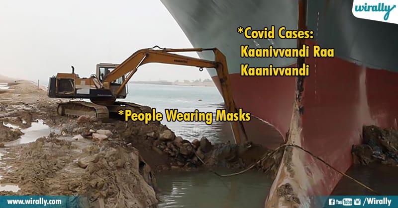 5.Suez Canal memes