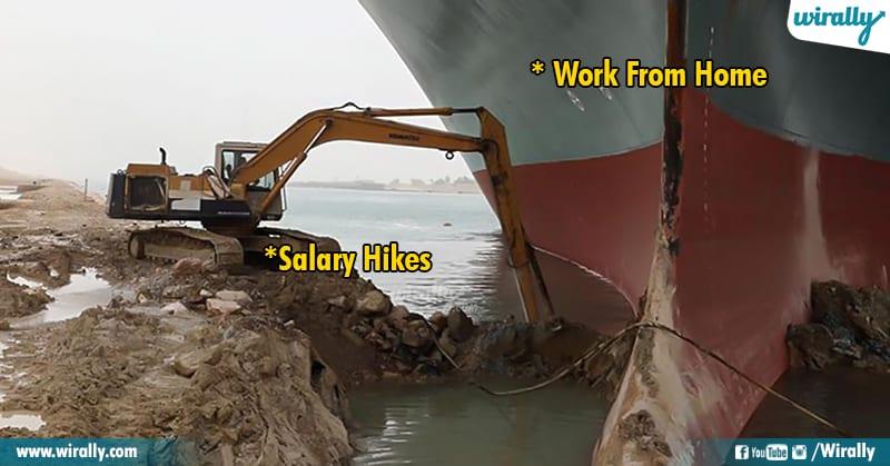 6.Suez Canal memes