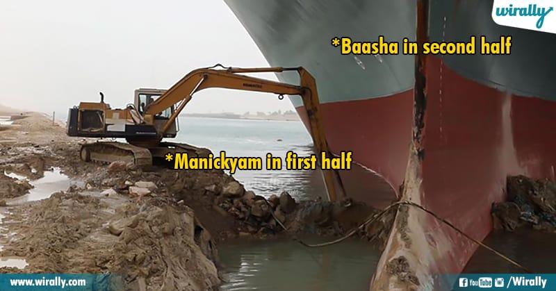7.Suez Canal memes