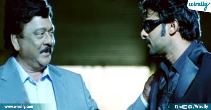 Krishnam Raju & Prabhas