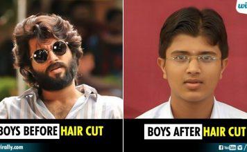 Hair cut fails