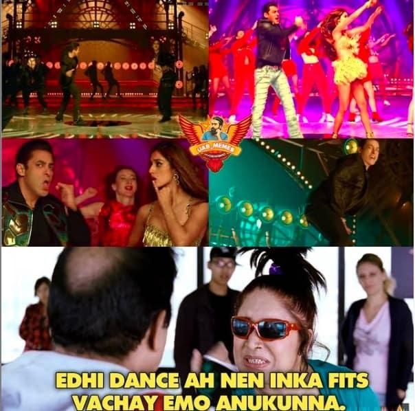1.Memes On Sallman khan Seeti Maar song