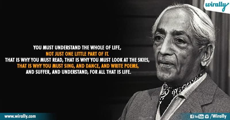 1.Quotes From Jiddu Krishnamurti Garu