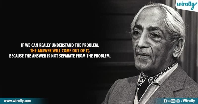 11.Quotes From Jiddu Krishnamurti Garu