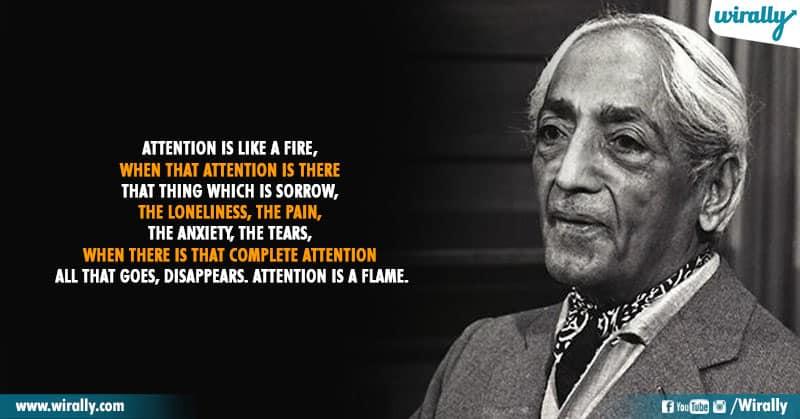 13.Quotes From Jiddu Krishnamurti Garu