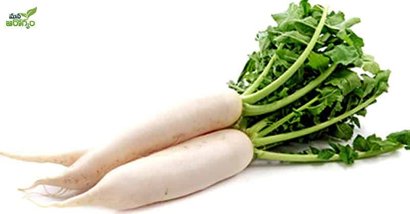 Health benefits of eating radish