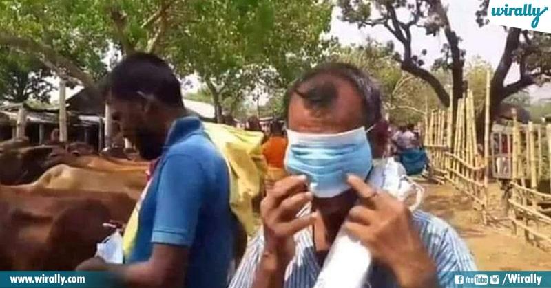 3.How indians Wear Masks