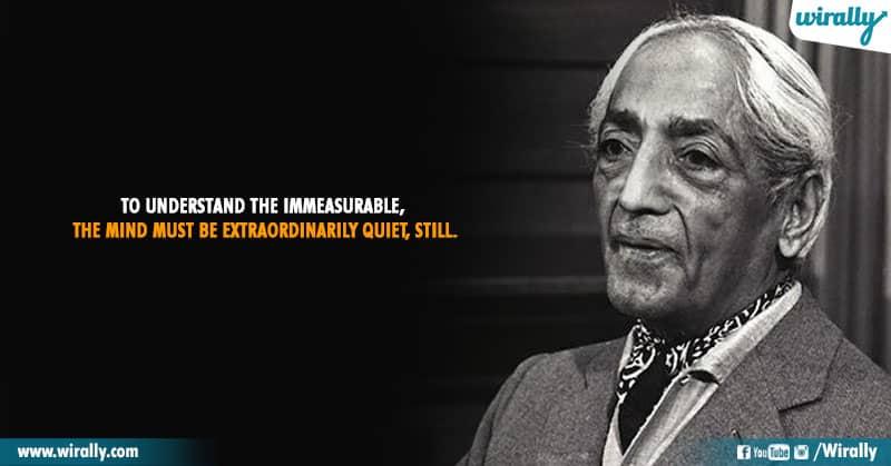 3.Quotes From Jiddu Krishnamurti Garu