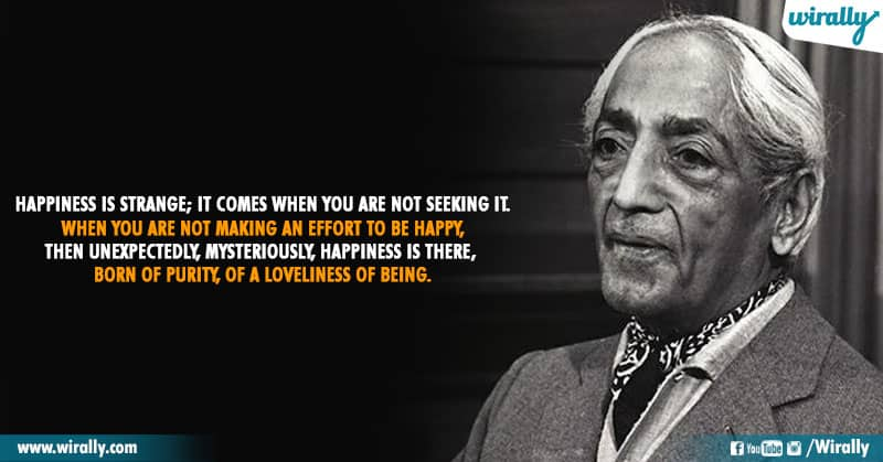 4.Quotes From Jiddu Krishnamurti Garu