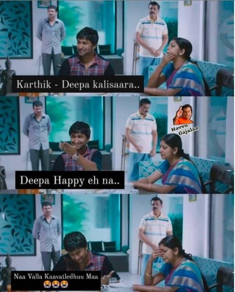 6.Karthika Deepam memes