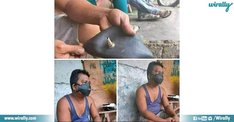 8.How indians Wear Masks
