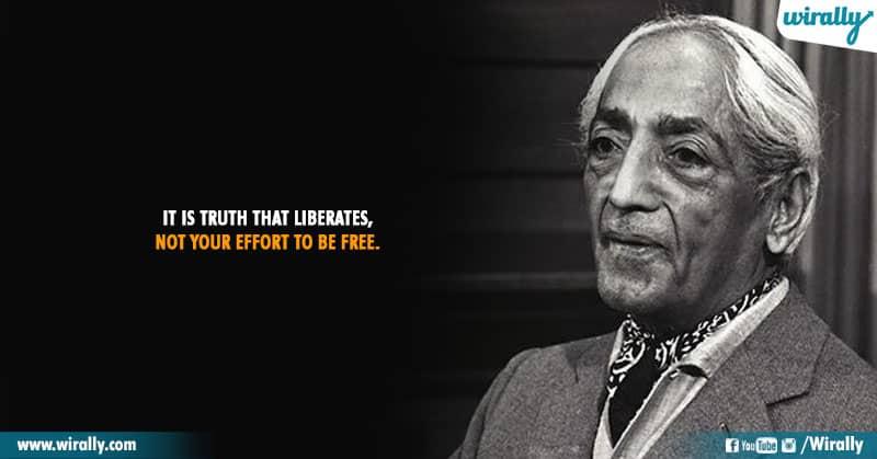 8.Quotes From Jiddu Krishnamurti Garu