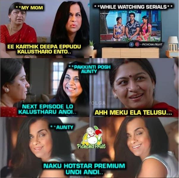 9.Karthika Deepam memes
