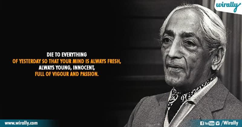 9.Quotes From Jiddu Krishnamurti Garu