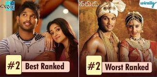 Allu arjun best and worst movies