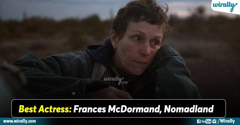 Best Actress Frances McDormand