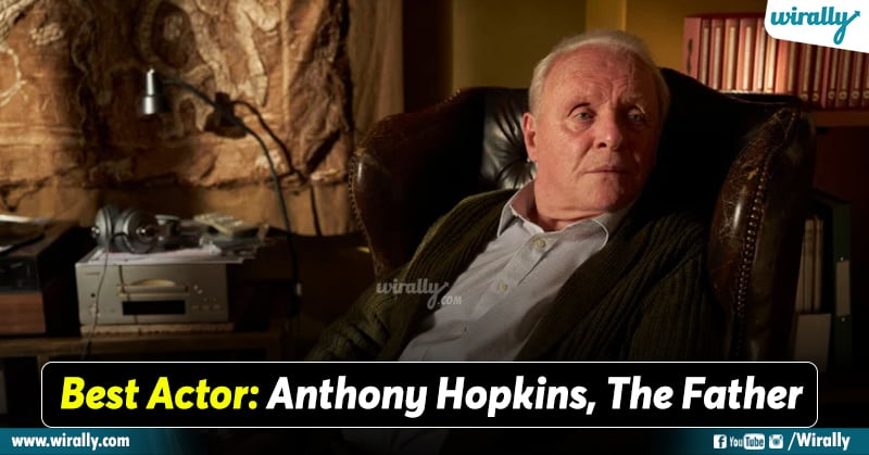Best actor Oscar 2021 Anthony Hopkins