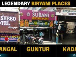 Biryani places in telugu states