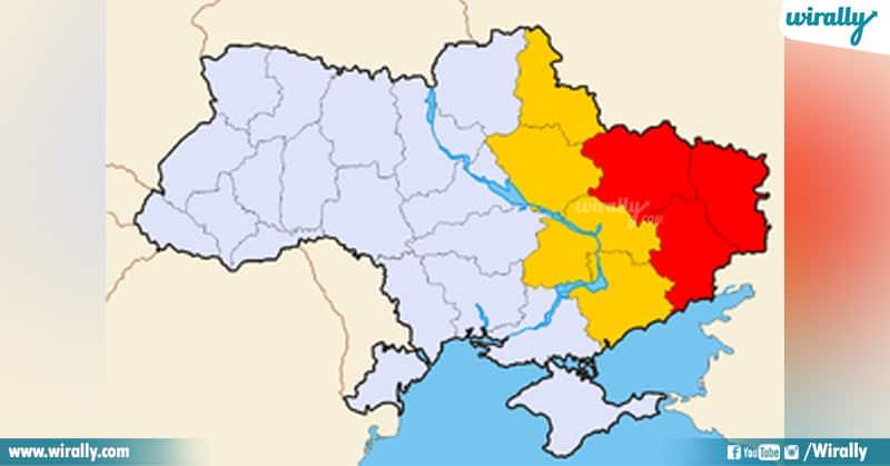 Eastern Portion of Ukraine