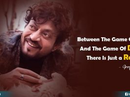 Irrfan Khan words