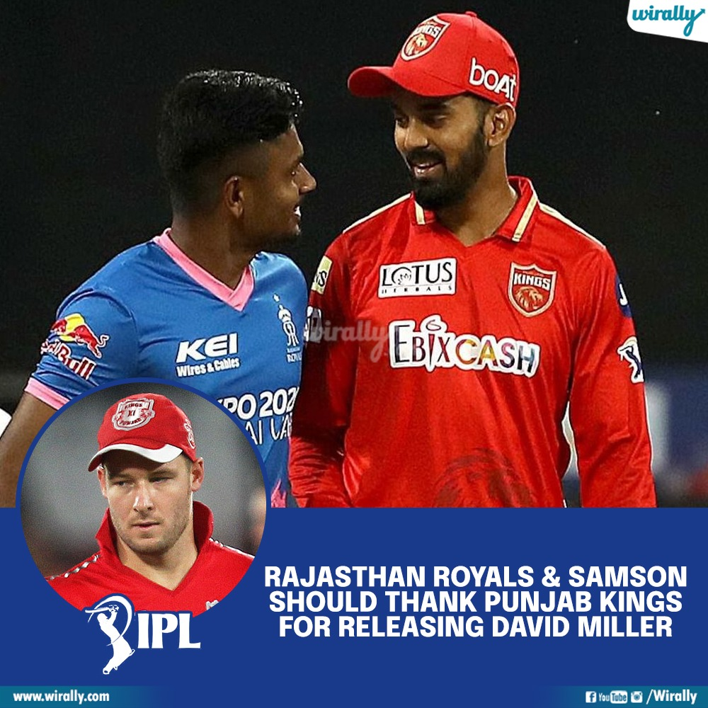 RAjasthan royals david miller