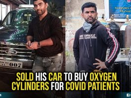 Shahnawaz Shaikh providing oxyzen cylinders for free