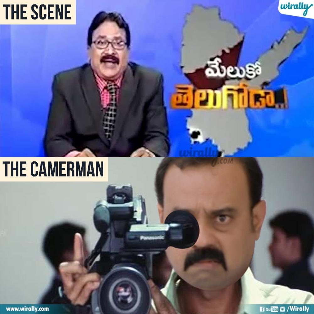 1.The Scene - The Cameraman memes