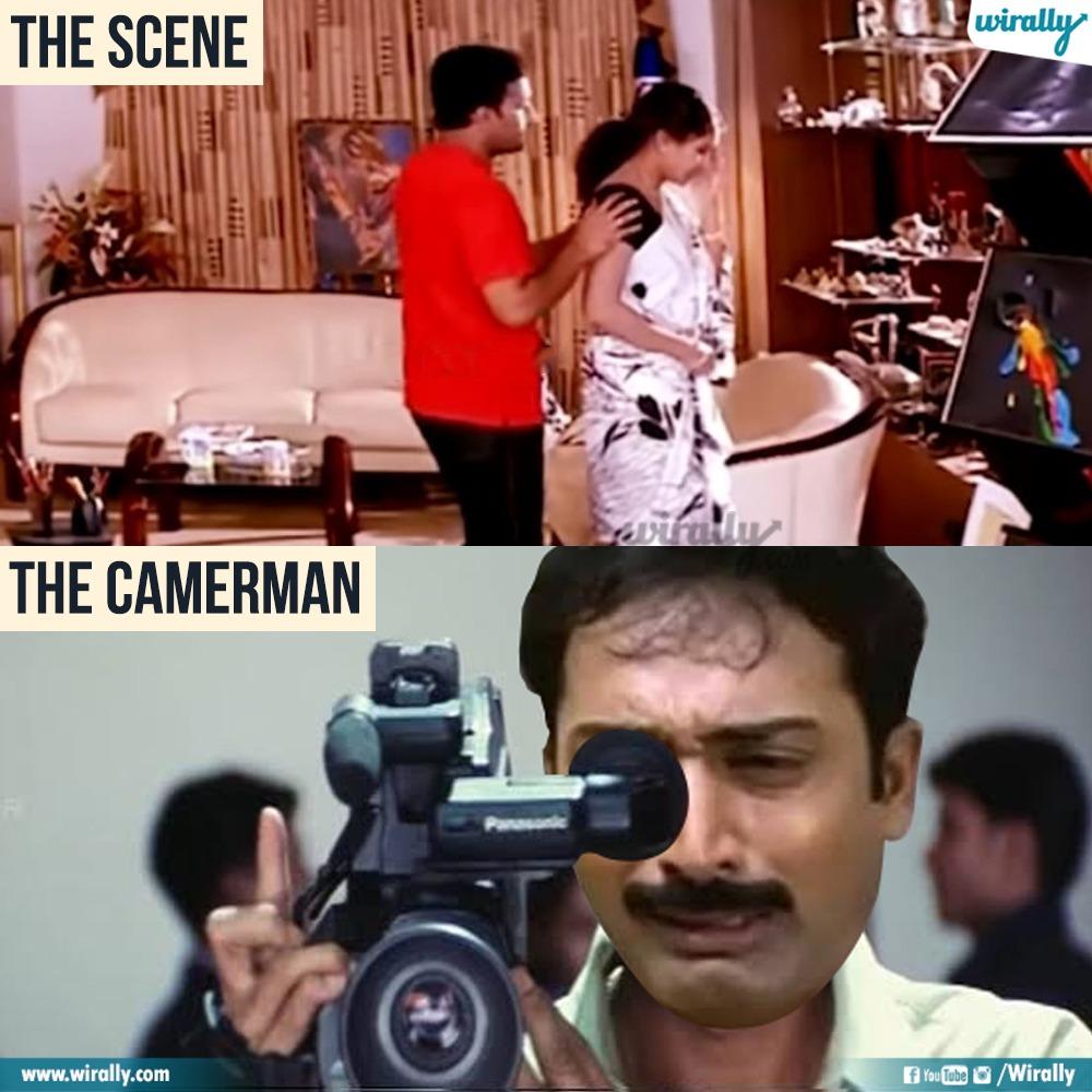 2.The Scene - The Cameraman memes