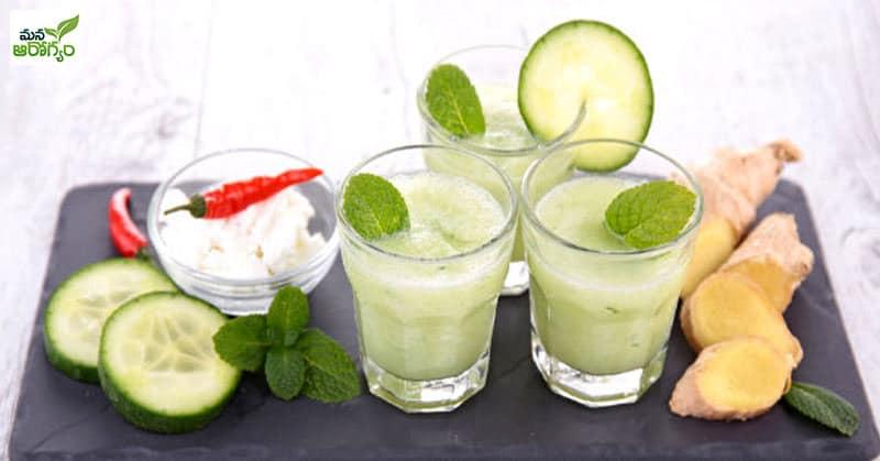 Health Benefits of Cucumber Water