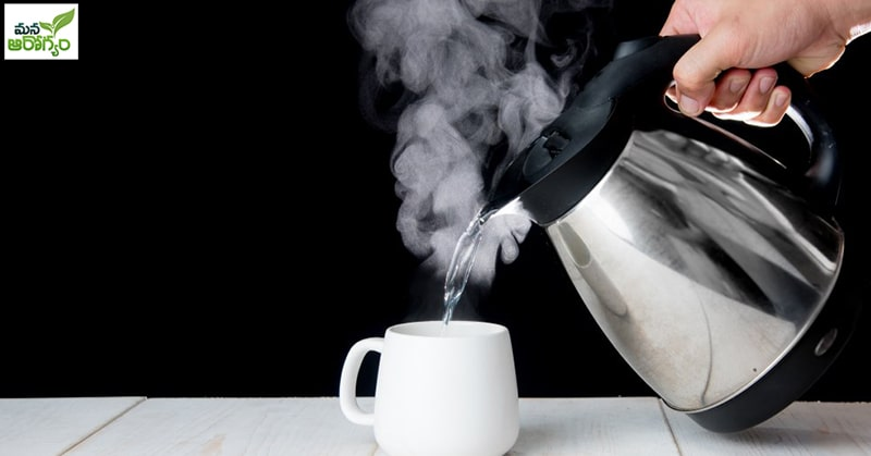 problems caused by drinking hot water in summe
