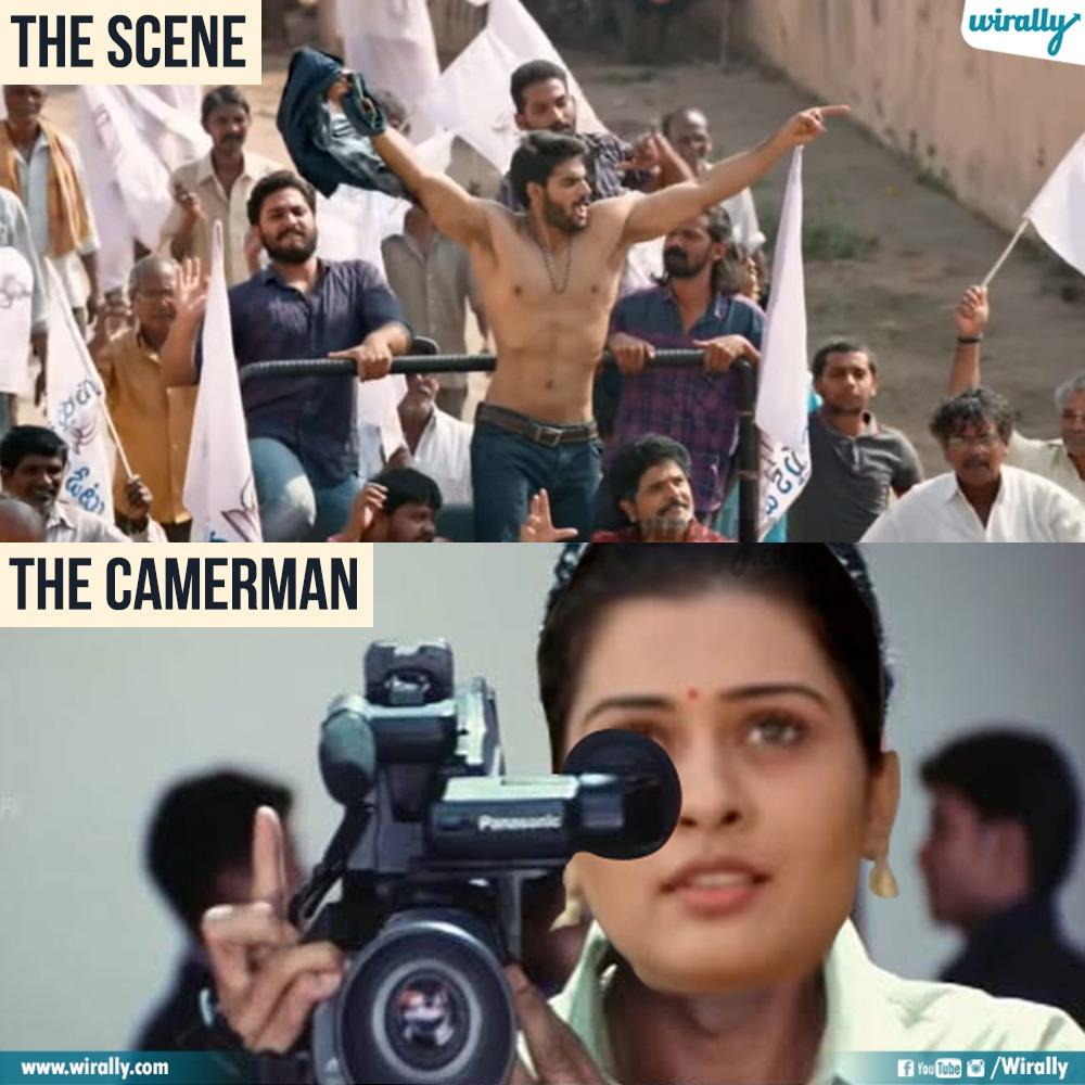 4.The Scene - The Cameraman memes