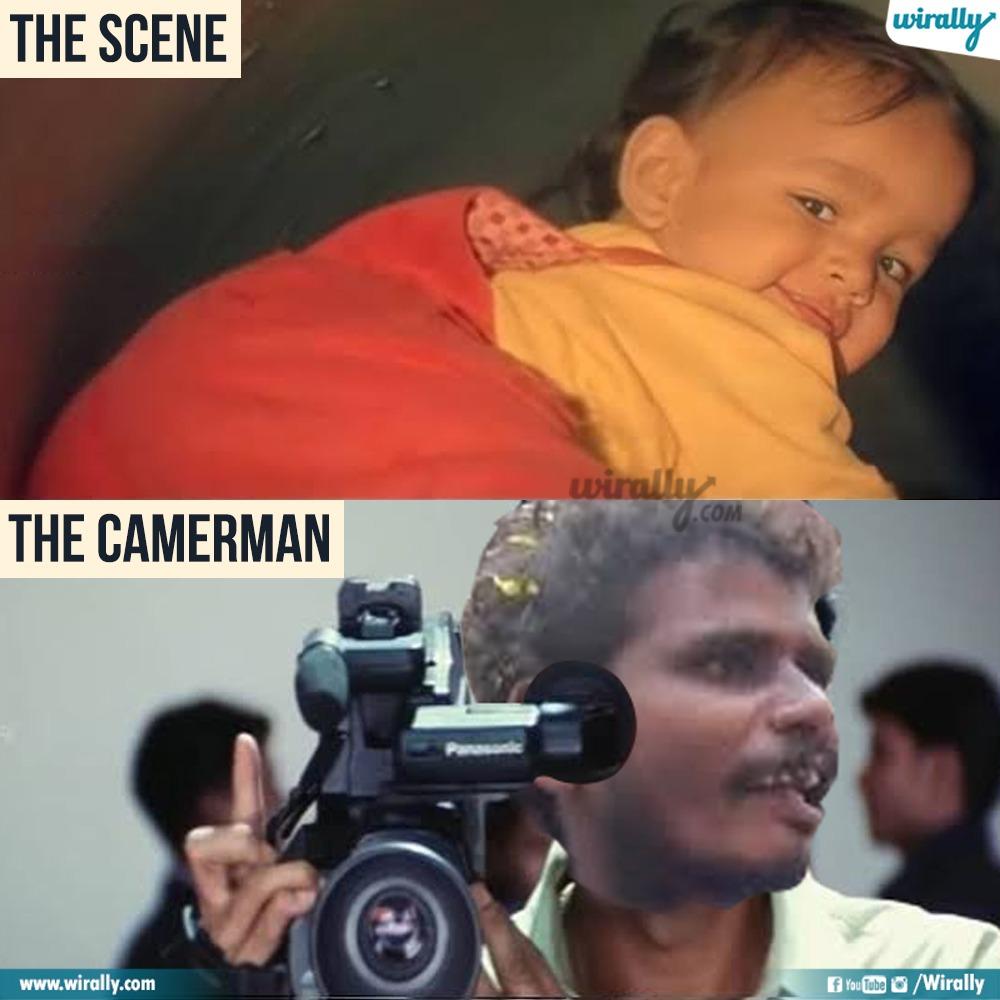 5.The Scene - The Cameraman memes