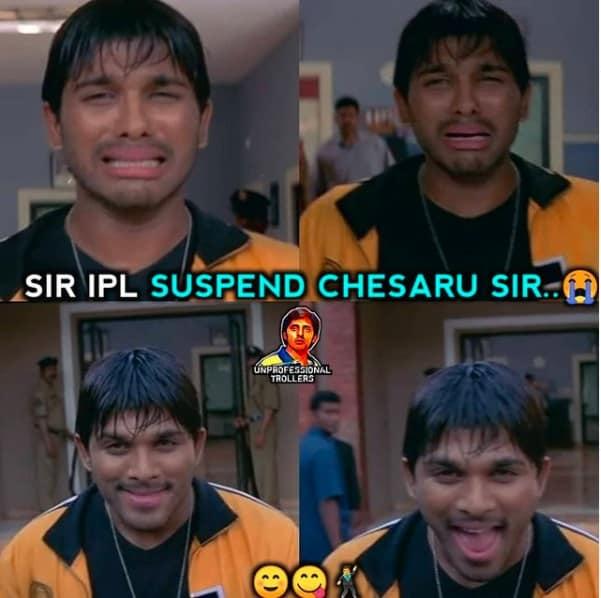 5.memes on suspended ipl
