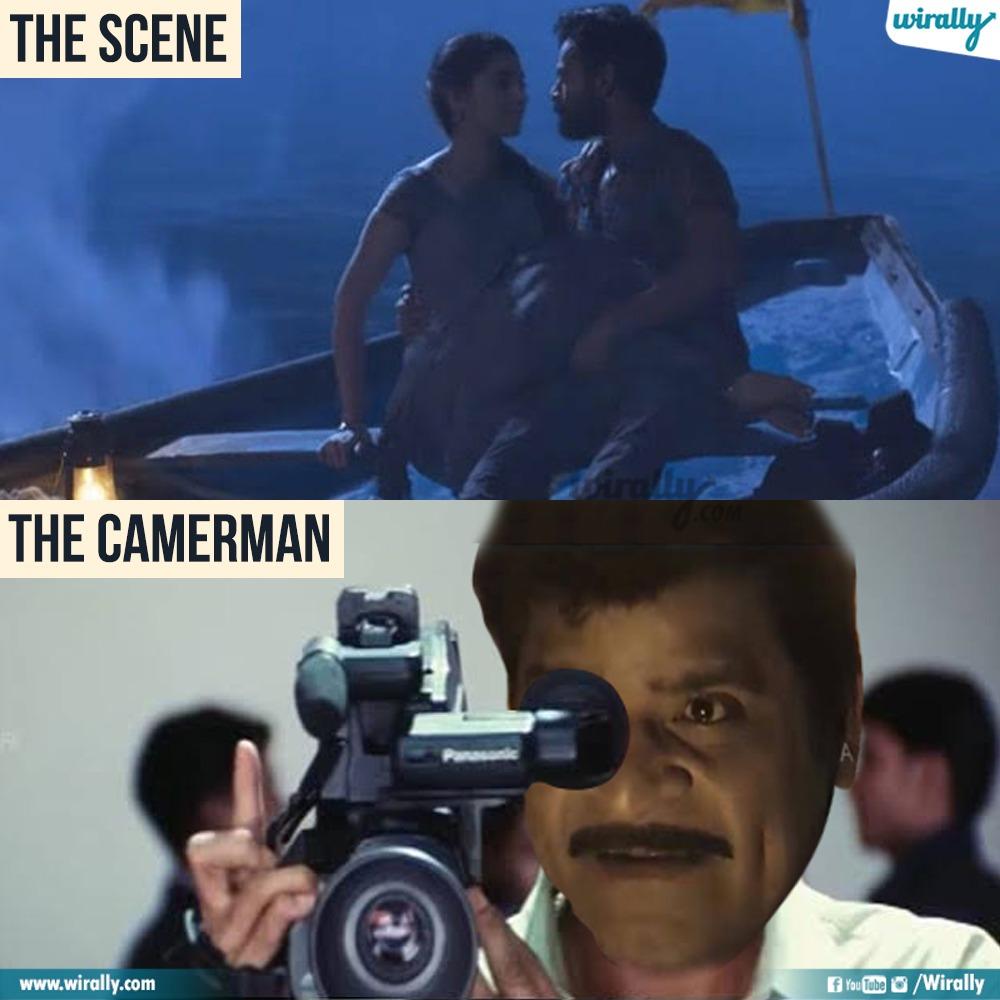 7.The Scene - The Cameraman memes