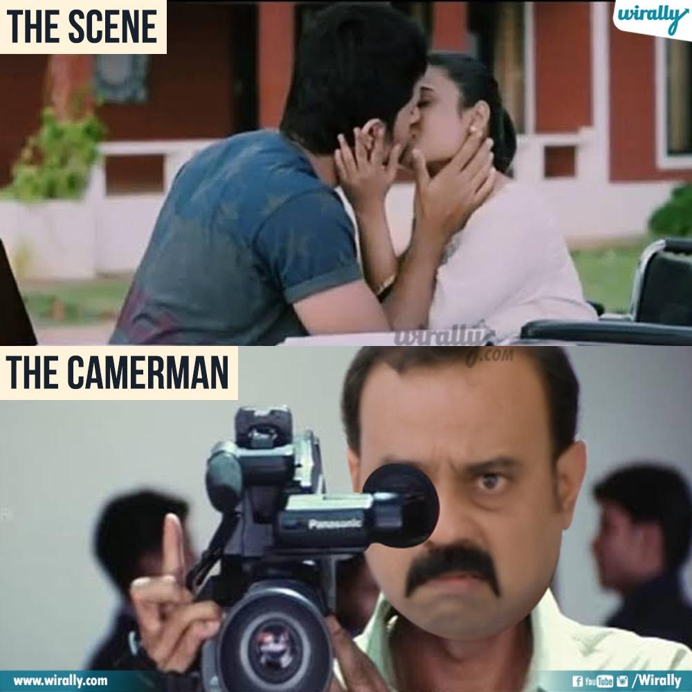 8.The Scene - The Cameraman memes