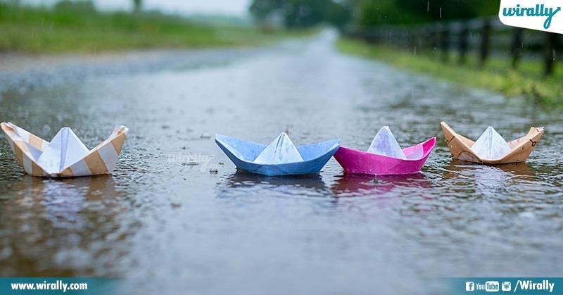 Boats & Rain