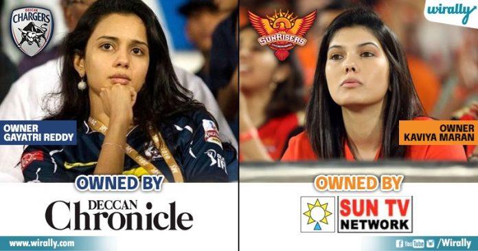 Owners Of IPL Teams