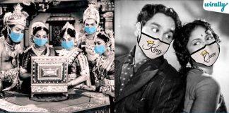 Iconic Stars From TFI Were Wearing 'Corona Masks