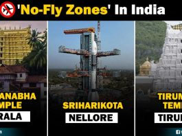 no fly zones in india