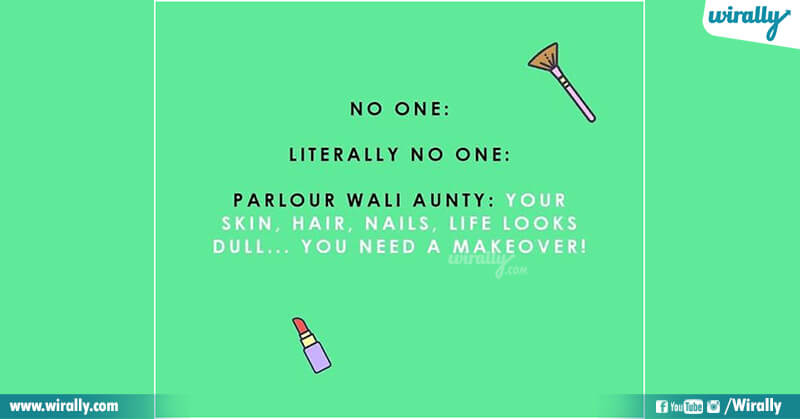 1.Girls in Beauty Parlours