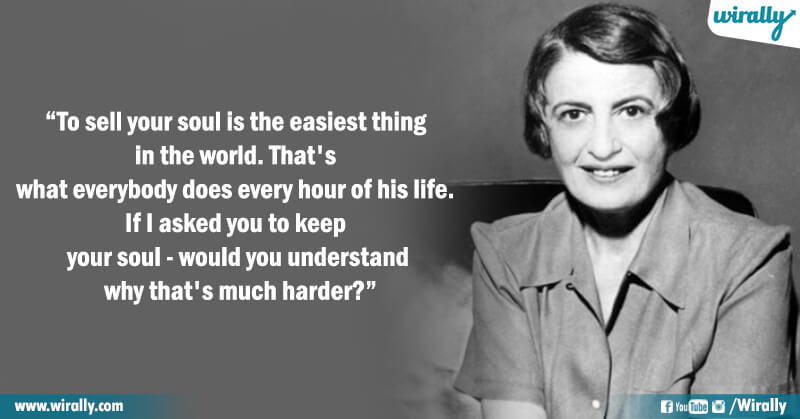 1.Quotes from Ayn Rand's