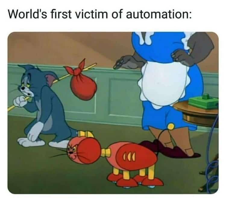 11.Tom & Jerry memes