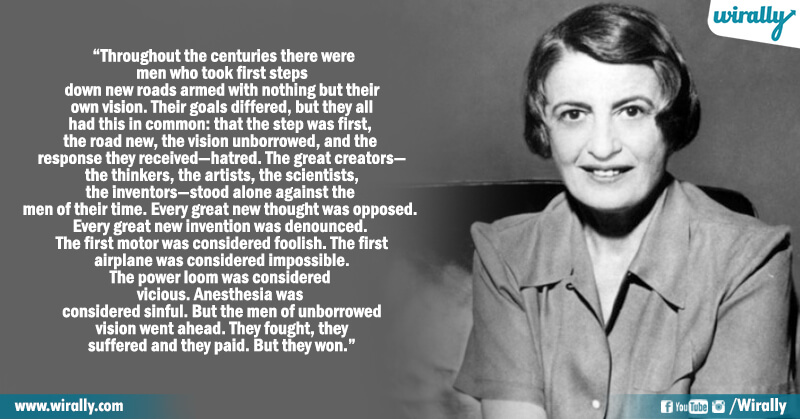 2.Quotes from Ayn Rand's