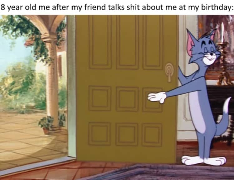 3.Tom & Jerry memes