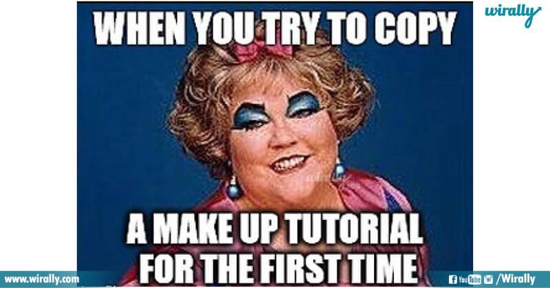 5.Girls Makeup problems