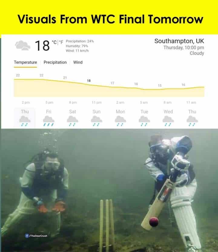 5.WTC Final craze