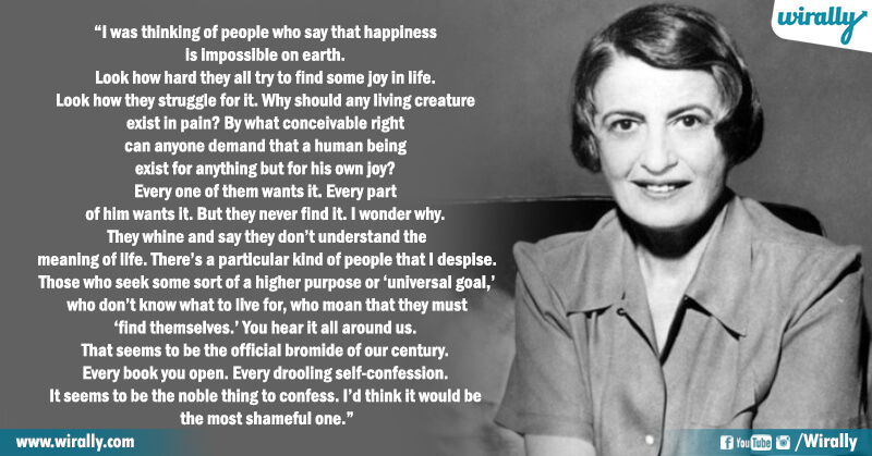 6.Quotes from Ayn Rand's