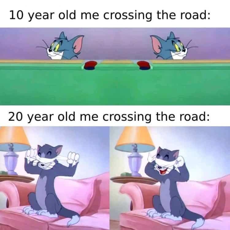 6.Tom & Jerry memes