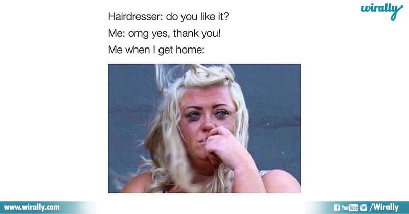 6A.Girls hair cut