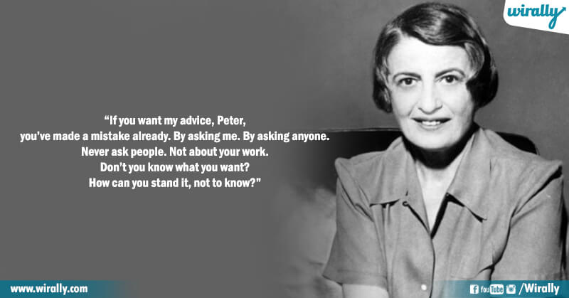7.Quotes from Ayn Rand's